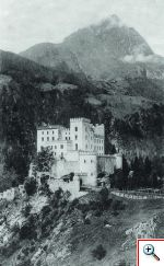 Schloss Weissenstein in Matrei in Osttirol um ca. 1900
